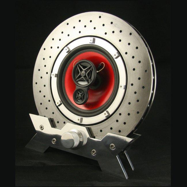Ferrari F430 disc speaker