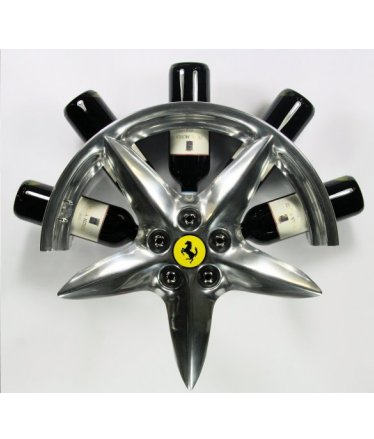 Ferrari 360 modena rim wine rack